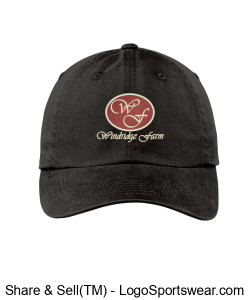 Ladies Garment Dyed Cap Design Zoom